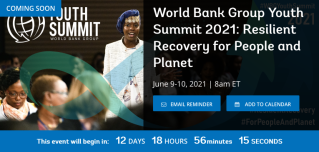 Screenshot_2021-05-27 World Bank Group Youth Summit 2021 Resilient Recovery for People and Planet