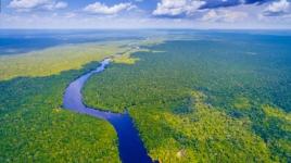 Amazon River in Brazil